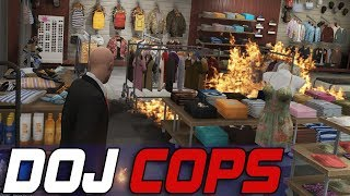 Dept. of Justice Cops #556 - Fiery Contract