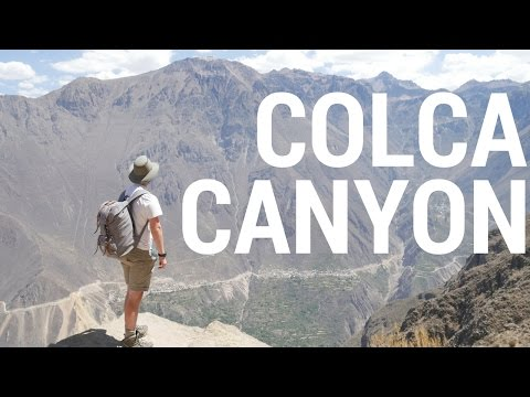 Trekking Colca Canyon, Arequipa Peru