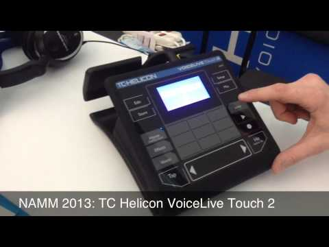 namm 2013 tc helicon voicelive touch 2 youtube. Black Bedroom Furniture Sets. Home Design Ideas
