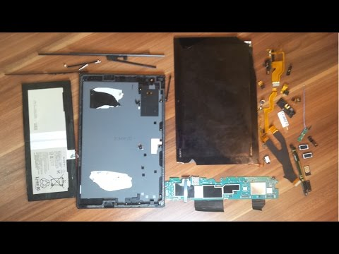 Sony Xperia Z4 Tablet - Disassembly | Teardown | Take apart