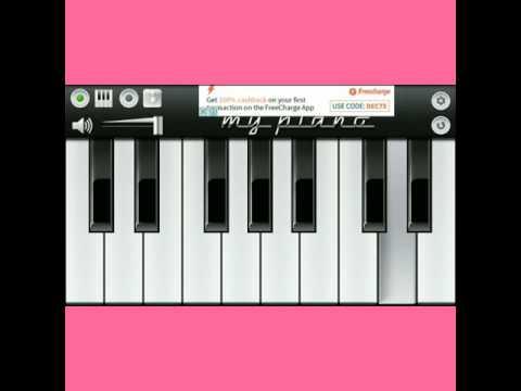 Mujhko irade de kasme de wade de - Mobile_Piano