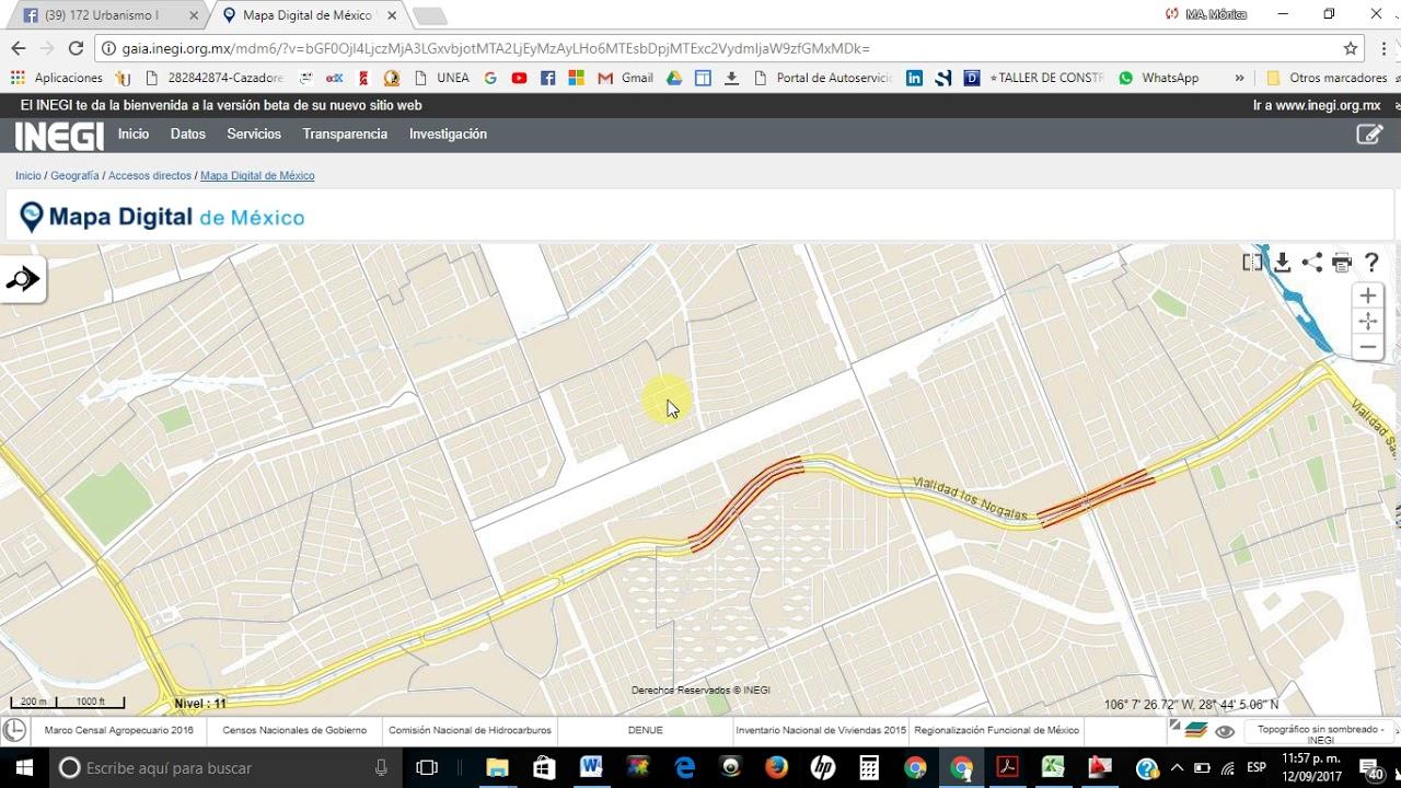 Localizacion De Ageb En La Pagina Del Inegi Youtube
