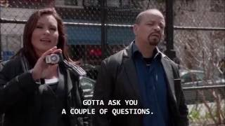 Law & Order SVU - Olivia Slapping Andy Chen