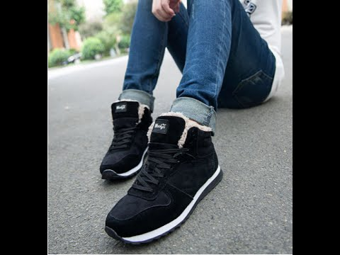 e04e61a6 Смотреть видео SHOPаные зимние кроссовки для мужчины и женщины с AliExpress  онлайн, скачать на мобильный.