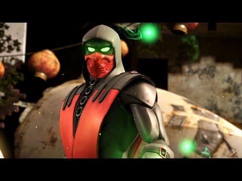 Mortal Kombat X - Ermac Krimson Costume Ladder Walkthrough and Ending