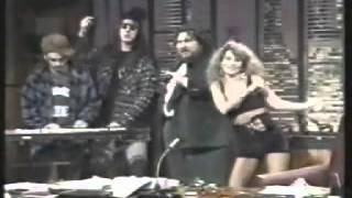 Lory D & Leo Anibaldi on TV circa 1992