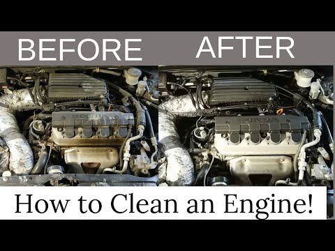 How to Clean and Protect a Car/Truck Engine