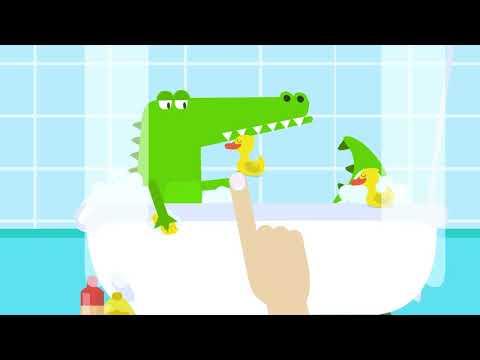 Учим цифры с Крокодилом! Учимся считать до 10! Развивающие мультфильмы для детей