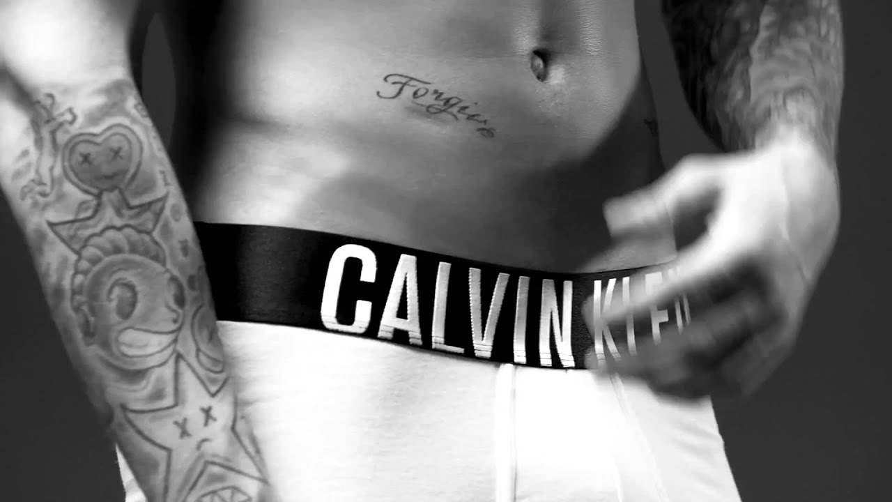 Justin Bieber - Calvin Klein Slow Motion Extremely Hot