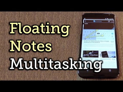 Hovernote Makes It Easy to Take Notes Without Closing the Current App