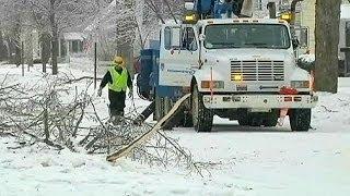 Снегопады и морозы в США: 17 погибших