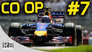 F1 2014 CO OP Career Mode Part 7: Canada (CO OP Championship Red Bull Gameplay)