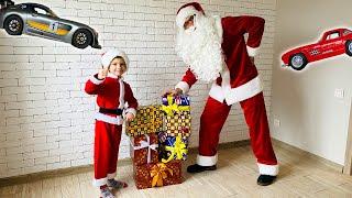 Помог Деду Морозу разносить Новогодние подарки. Видео для детей.