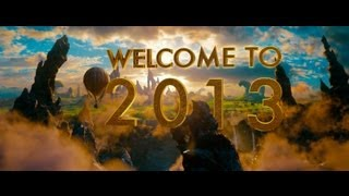 Happy New Year from Oz The Great and Powerful!