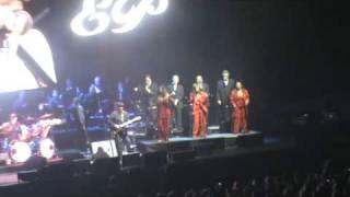 Opening Elvis in concert Rotterdam Ahoy 24-2-2010