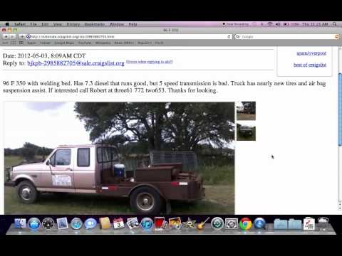 Craigslist Victoria TX - Used Cars and Trucks for Sale By Owner Under $3000