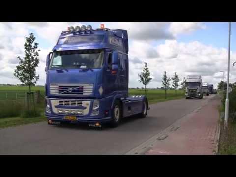 Truck Festival Burdaard 2015 - Optocht - Konvooi
