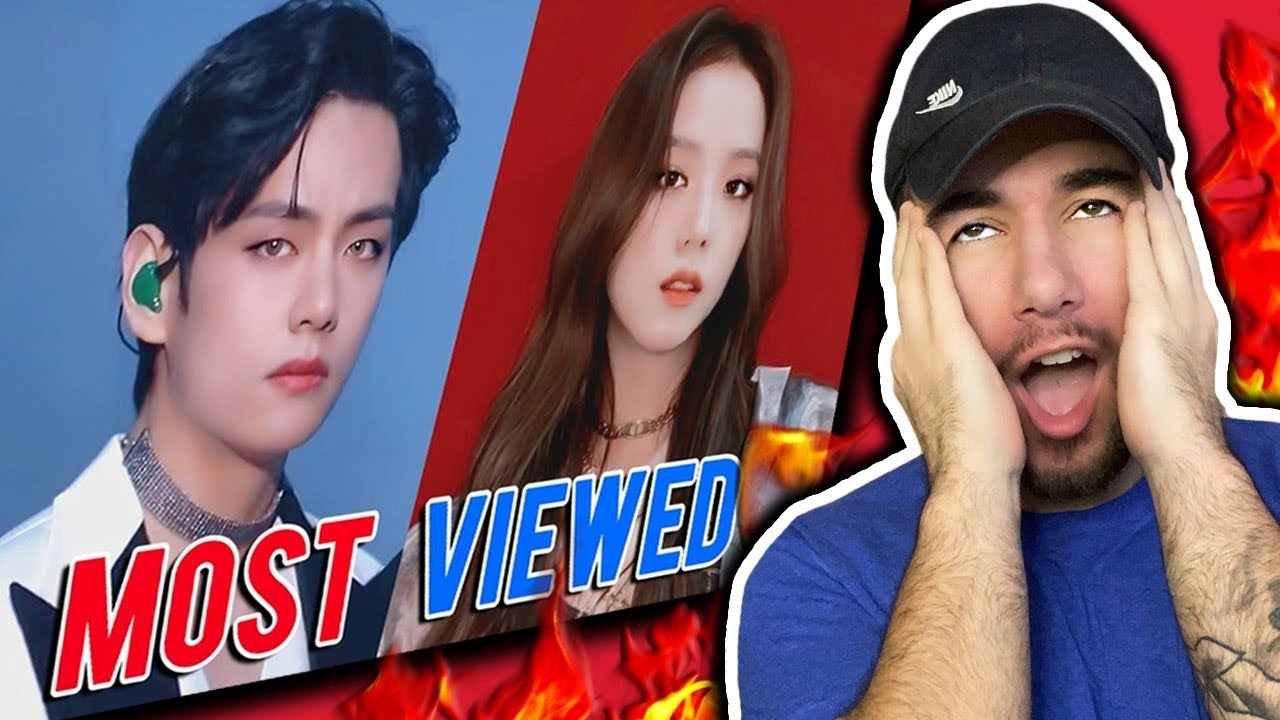Rapper Reacts to TOP 10 MOST VIEWED KPOP MV OF EACH MONTH 2020!