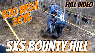 SXS Bounty Hill | Boo Bash 2015 | Full Video | HD