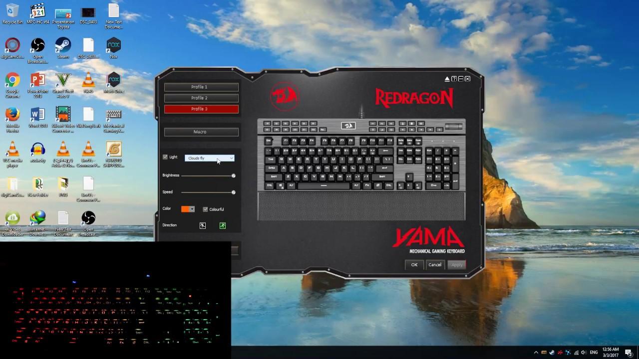 Redragon Yama K550 RGB Mechanical Gaming Keyboard