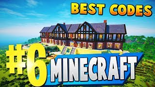 TOP 6 BEST MINECRAFT MAP CODES IN FORTNITE CREATIVE