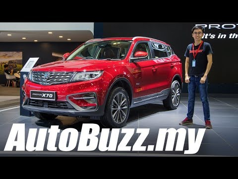 Proton X70 SUV, Things You Need To Know - AutoBuzz.my