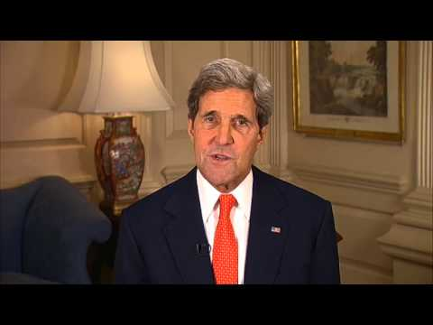"""""""Diplomacy in Action"""" Welcome from United States Secretary of State, John Kerry"""