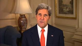 """Diplomacy in Action"" Welcome from United States Secretary of State, John Kerry"
