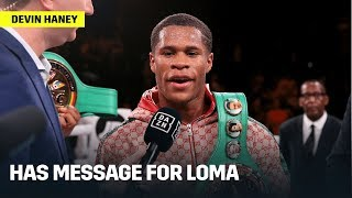 "Devin Haney Says Vasyl ""No-Machenko"" Refuses To Fight Him"