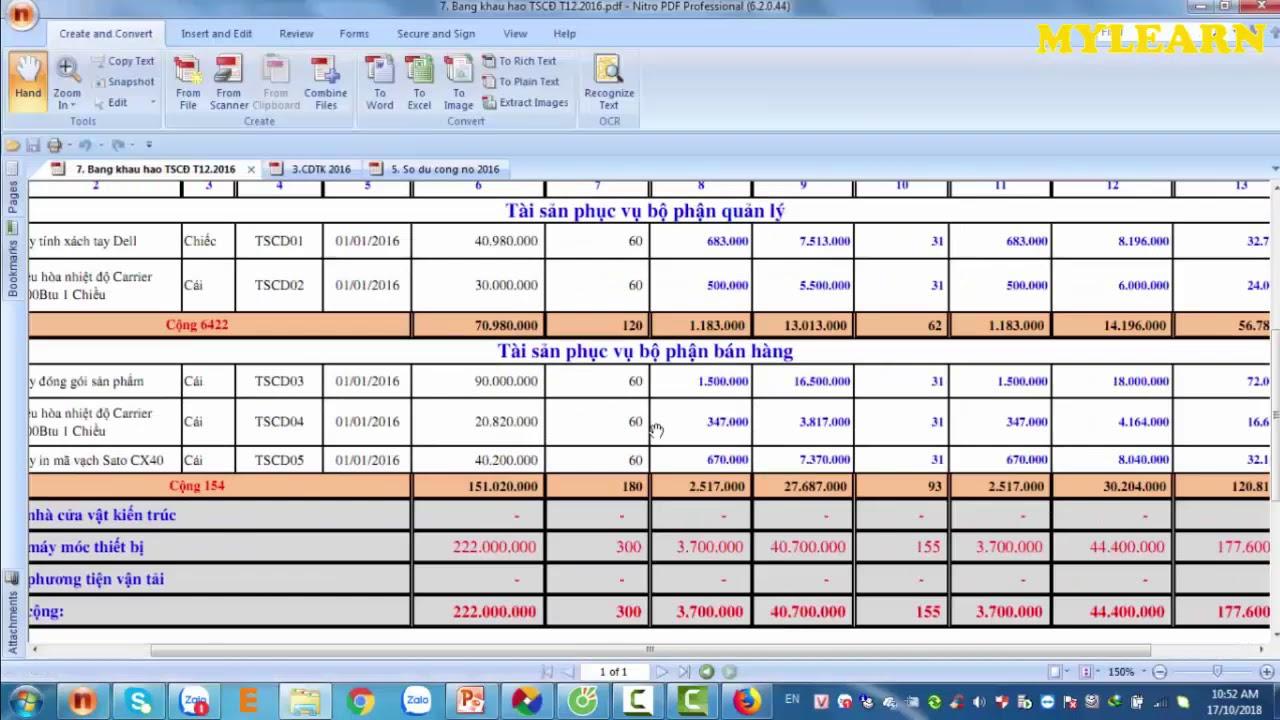 Bài 6 Thực hành kế toán thương mại dịch vụ trên phần mềm misa