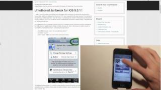 How To Jailbreak iOS 5.0.1 Untethered On iPod Touch 4G! Part 1 Redsn0w 0.9.10b3