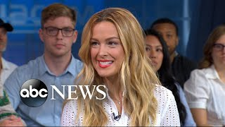 Supermodel Petra Nemcova opens up about her hurricane relief efforts on 'GMA'