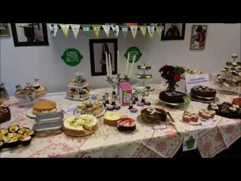 Macmillan Coffee Morning with Manchester Creative & Media Academy