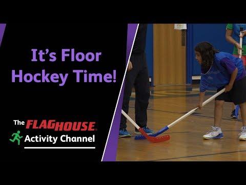 It's Floor Hockey Time! 5 Fantastic Drills For PE Class (Ep. 54 - Floor Hockey)