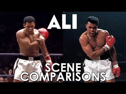 Will Smith and Muhammad Ali | Ali (2001) - scene comparisons