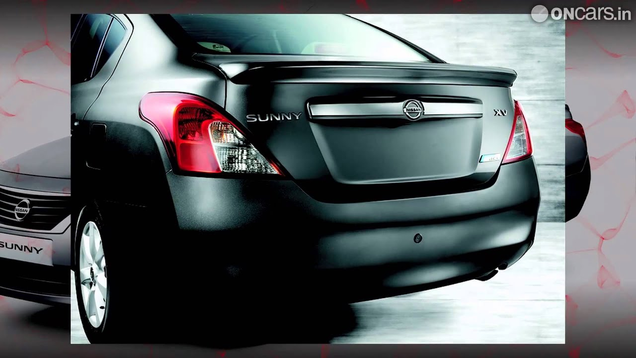 Nissan Sunny XV Special Edition launched in India - YouTube