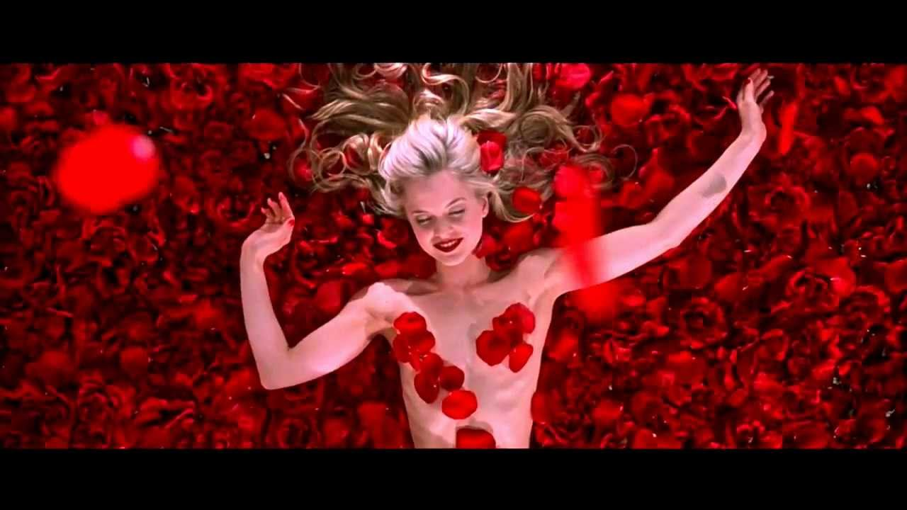Dream About Wallpaper Falling Off Scene From Film Quot American Beauty Quot 720p Hd Falling Rose