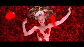 "Scene from film "" American Beauty"" 720p HD  -- Falling Rose Petals"