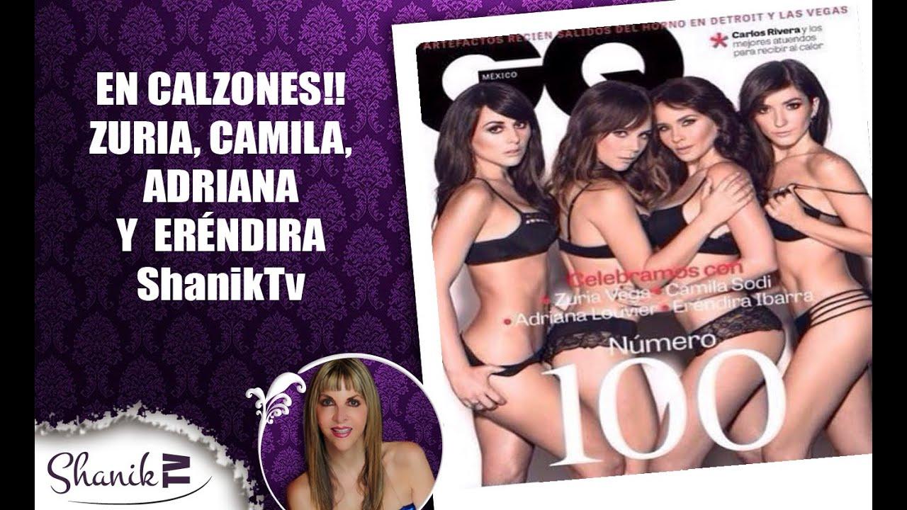 En Calzones Zuria Vega Camila Sodi Adriana Louvier Y Eréndira Ibarra Shaniktv