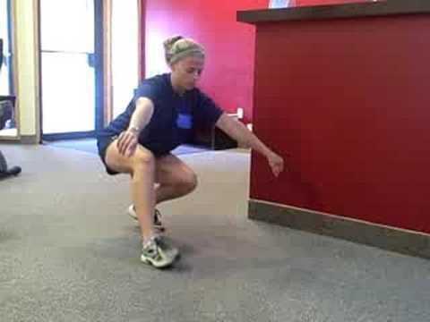 squat walk youtube