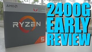 World's First Ryzen 5 2400G Raven Ridge APU Review | Benchmarks | Power Consumption |