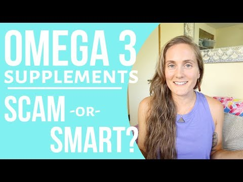 The Omega 3 Supplement Scam?