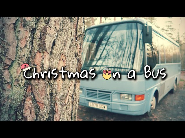 Our First Christmas on the Bus | BUS LIFE | Nomadidaddy