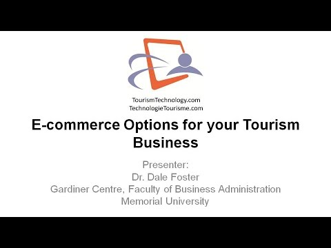 E-commerce Options for your Tourism Business