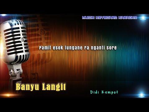 Didi Kempot - Banyu Langit Karaoke Tanpa Vokal