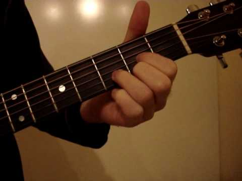 Amazing love christian worship song lesson guitar how to - YouTube