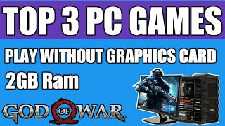 Top 3 PC games That You Can Play Without Graphics Card | With Download Link
