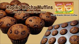 Kopiko mocha muffin  Mocha cupcakes Using Kopiko Brown coffee By: Lordeliza S.
