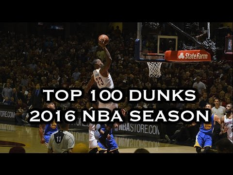 Top 100 Dunks: 2016 NBA Season