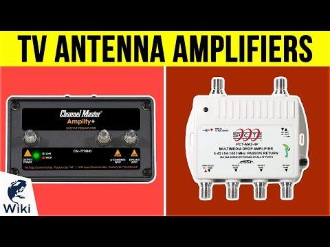 10 Best TV Antenna Amplifiers 2019